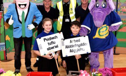 Popular environmental roadshow visits Bangor schools