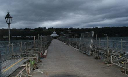 Bangor Pier Restoration Work Progressing Well