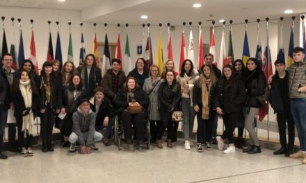 Business students discuss Brexit in Brussels
