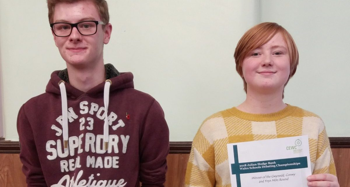 Coleg Menai student picked for world debating championships squad