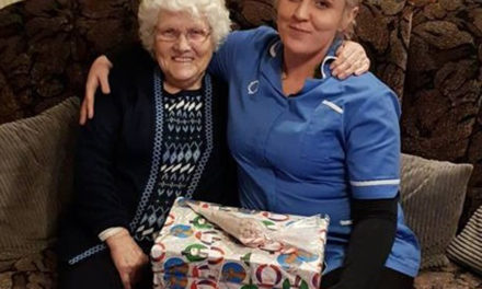 Vulnerable and elderly receive shoebox donations for Christmas