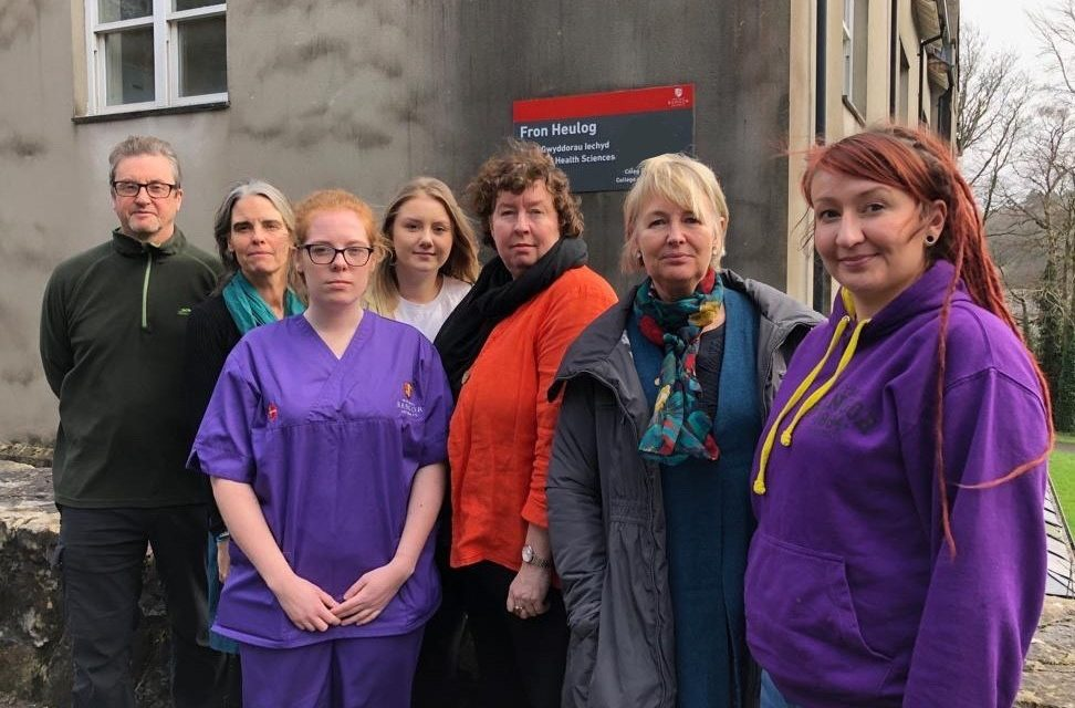 Bangor Nursing Students meet politicians amidst fears of teaching cuts