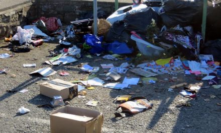 Beach Road recycling bins removed after persistent fly-tipping
