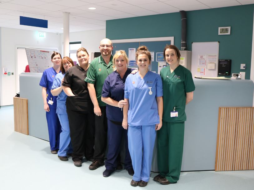 Phase 2 of Ysbyty Gwynedd's Emergency Department redevelopment completed