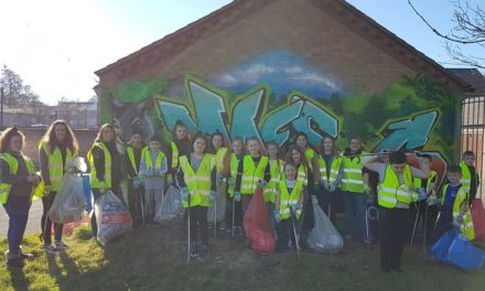 Community work together for huge Maesgeirchen cleanup