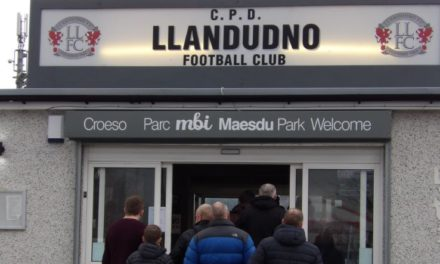 Bangor battered by Ruthin in Llandudno 'Home' game