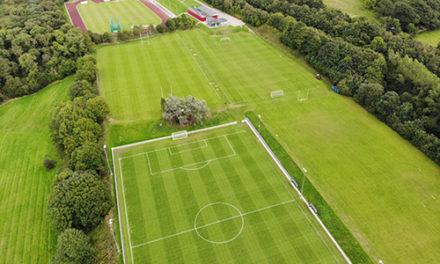 Work starts on Bangor University's new 3G pitch at Treborth
