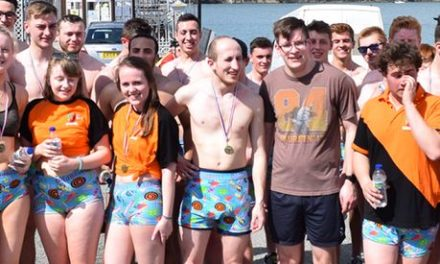 Bangor students ready for charity 'Runderpants' mile
