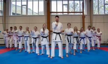 Bangor Karate Union campaign to keep sport at Paris 2024 Olympics