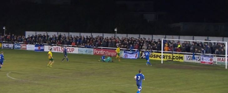 Bangor City fined for Welsh Cup crowd trouble