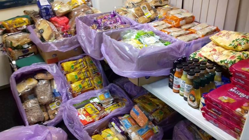 Bangor Plaid's Food Share is 1 year old today