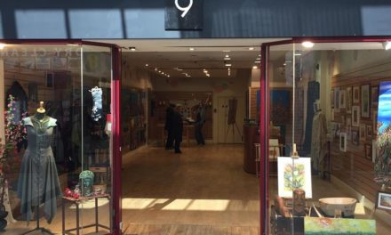 Local artists utilise retail unit for studio & exhibition space