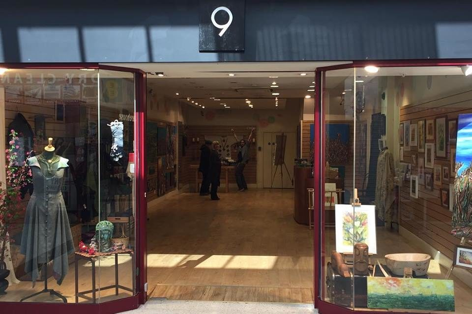 Local artists utilise retail unit for studio & exhibition space