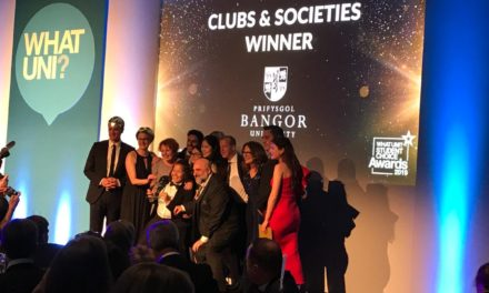 Bangor University wins Best Clubs and Societies Award
