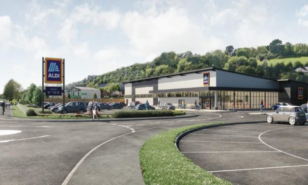 New Caernarfon Road Aldi Store Approved