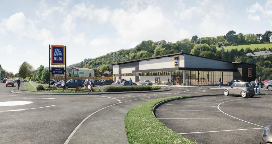 Aldi submits plans for new Bangor store on Caernarfon Road