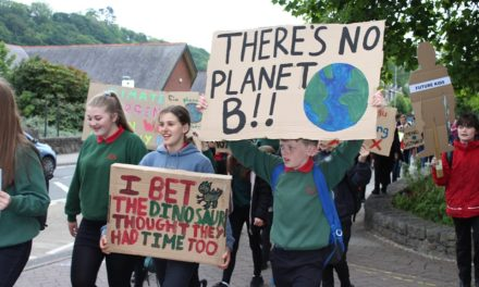 Young people of Bangor raise their voices against climate change