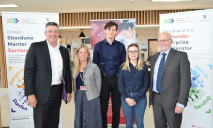 Bangor University entrepreneurs shine with Santander
