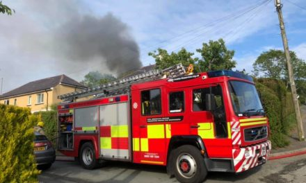 Huge Bangor mountain blaze caused by 'out of control' garden fire