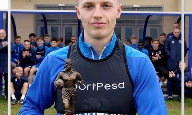 Nathan Broadhead named as Everton U23 Player of the Season