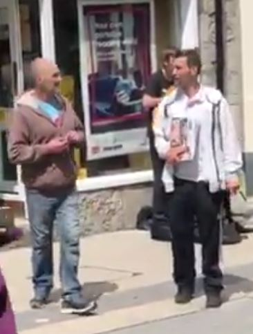 Shocking video shows two men stealing from blind busker in Bangor