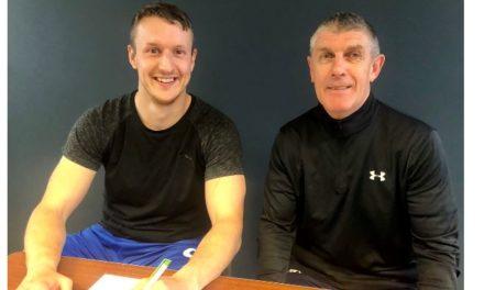 Bangor 1876 announce management team and sign Les Davies
