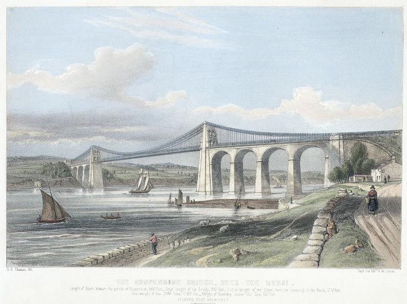 Special event planned to celebrate 200 years of Menai Suspension Bridge