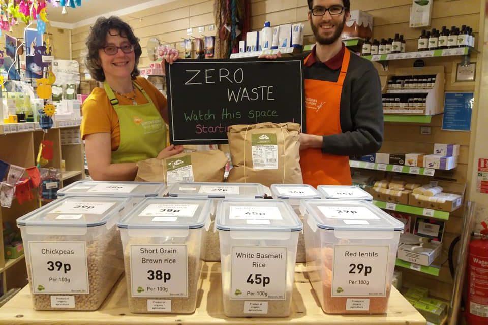 Dimensions Health Store add zero waste food zone