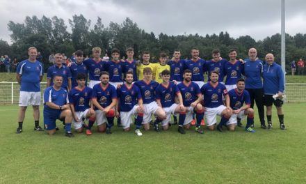Bangor 1876 record historic first win in pre-season game against Holywell