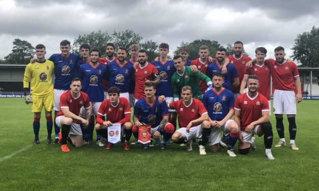 Bangor and Manchester fans United on historic day of football