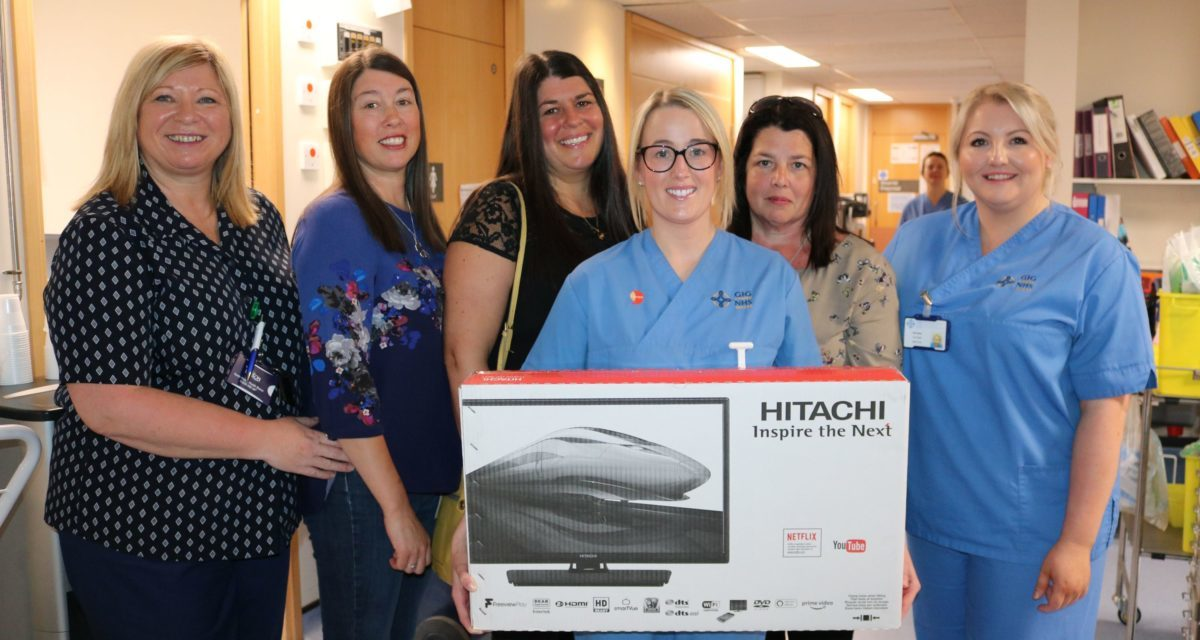 Over £3,500 raised for Intensive Care Unit in memory of popular Anglesey man