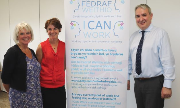 New support service helps people with mental health problems into work