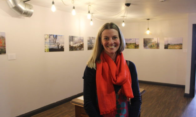 Exhibition inspired by Snowdonia mental health art therapy opens at Ysbyty Gwynedd
