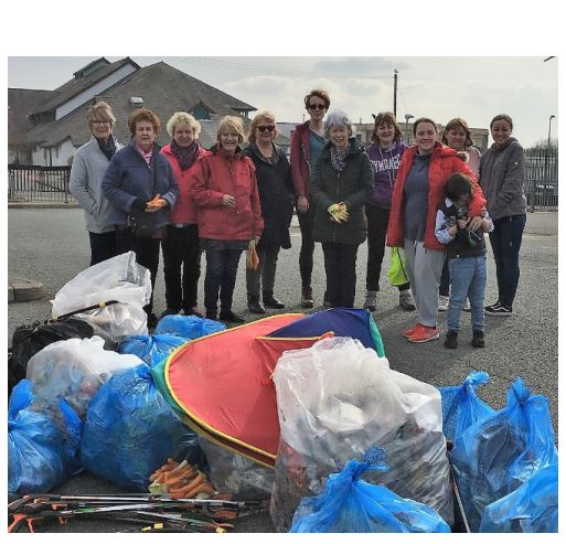 Merched y Wawr's 'Project 6000' Litter Campaign