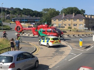 Police appeal after man seriously injured in Bangor road traffic collision