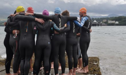 Brave swimmers to take on Pier to Pier Challenge for Team Irfon