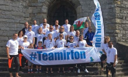 Fundraisers plan Beaumaris Pier to Bangor Pier swim for Team Irfon