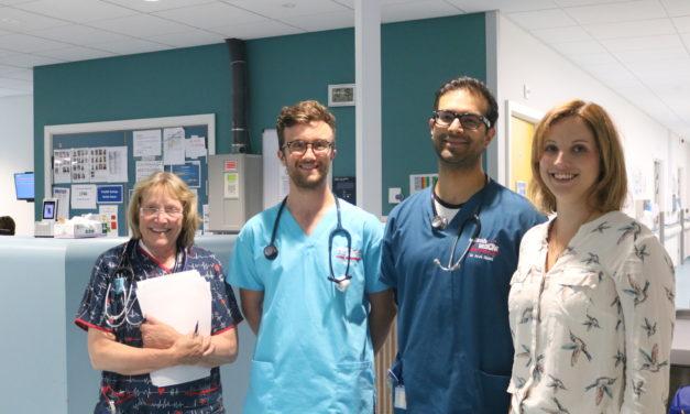 Ysbyty Gwynedd Emergency Department ranked amongst the best in the UK