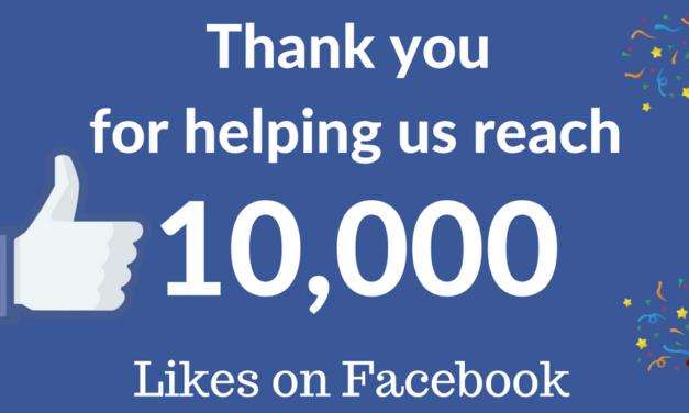 The Bangor Aye hits 10,000 Facebook Likes!