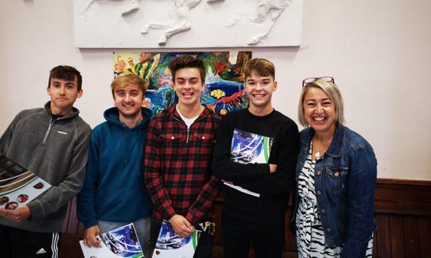 Gwynedd school pupils celebrate A Level result success