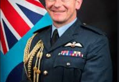 Former Bangor Air Cadet appointed new chief of the Royal Air Force