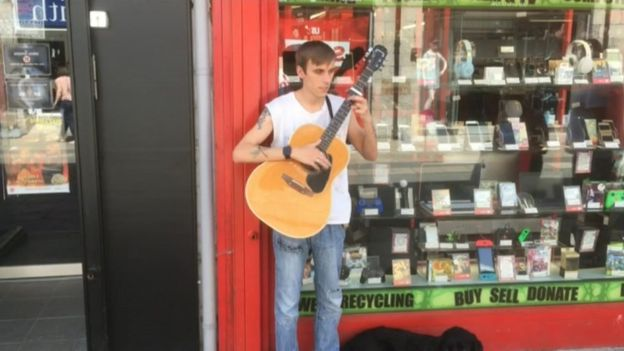 Bangor men guilty of 'despicable' theft from blind busker