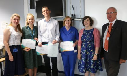 Top marks for Health care staff committed to learning Welsh
