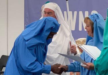 Ysbyty Gwynedd surgeon honoured at the National Eisteddfod