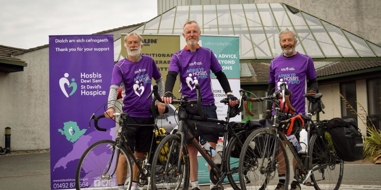 Asia to Anglesey Cycle Ride raises £20,000 for charity