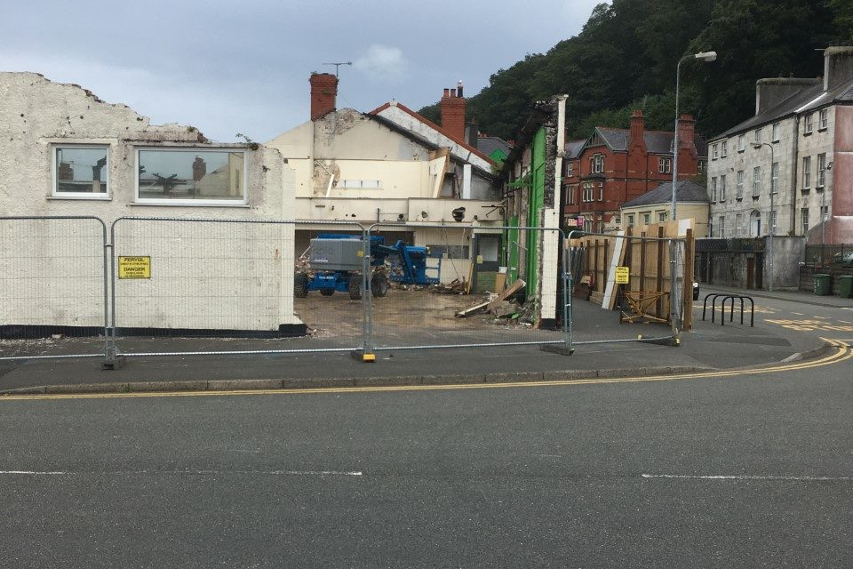 Bangor Play Centre demolished to make way for much needed residential units