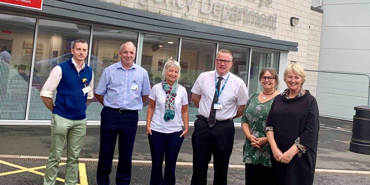 Local AM welcomes 'Transforming' upgrade work at Ysbyty Gwynedd