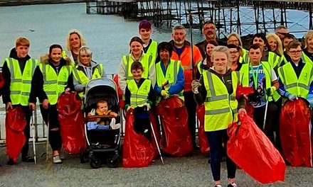 40 Bags of rubbish collected in Bangor coast cleanup