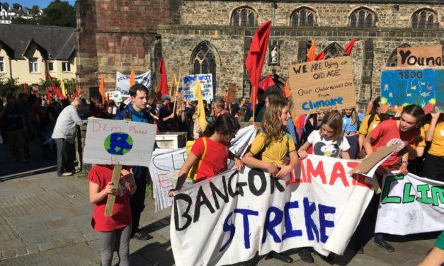 Hundreds Join Bangor Climate Strike Demonstration