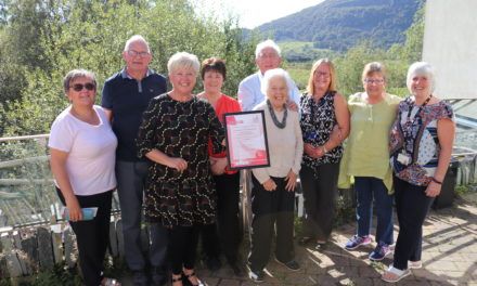 New award for 'First Class' Gwynedd and Anglesey Memory Service